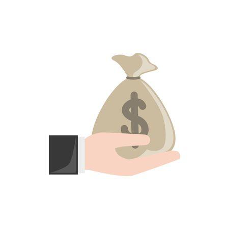 bag design, Money finance commerce market payment invest and buy theme Vector illustration