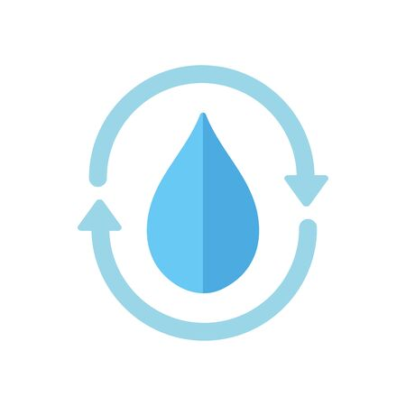 ecology renewable environment water icon