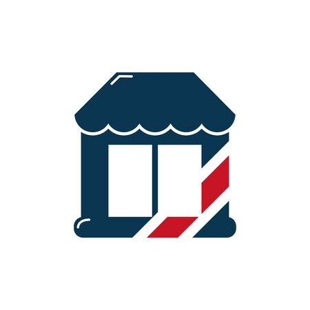 barber shop symbol icon design