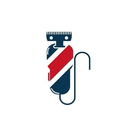 barber shop accessory icon design 向量圖像