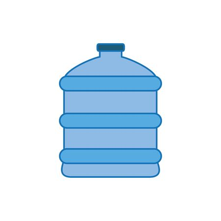 water dispenser bottle plastic fill icon blue