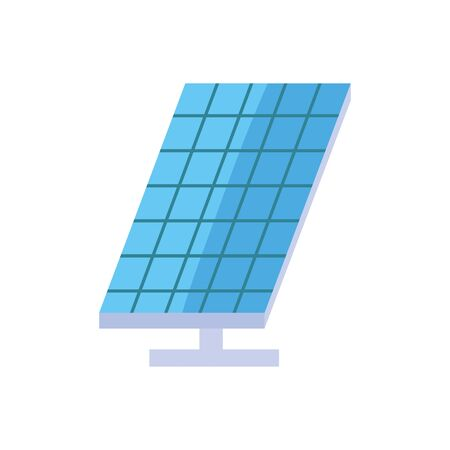 ecology renewable environment solar panel icon