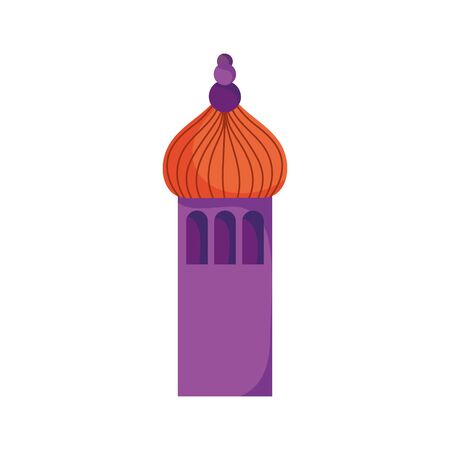 arabic castle tower classic antique icon