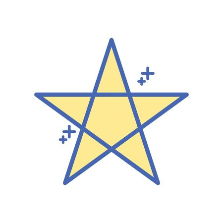 star five pointed fill style icon