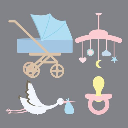 mobile pendant baby with accessories