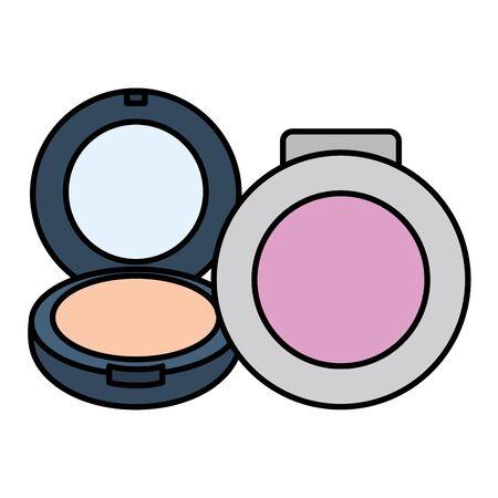 blush make up drawing icon