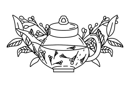 Isolated tea pot design vector illustration Stock fotó - 134306866