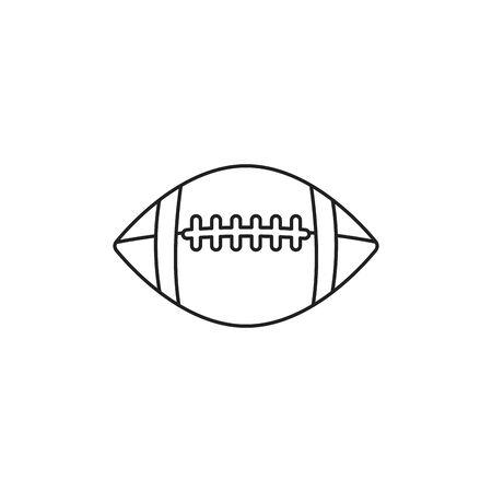 toy ball american football vector illustration design