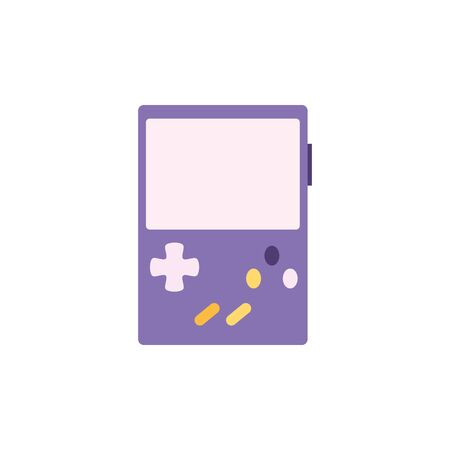 toy video game console flat style icon