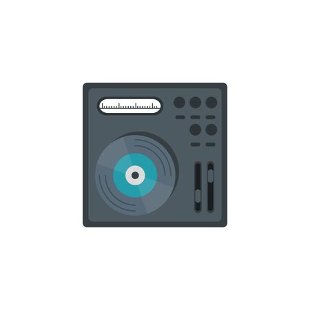 dj console music flat style icon