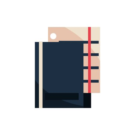 folder sheet document office work business equipment icon