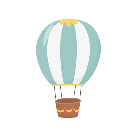 Hot air balloon vector design