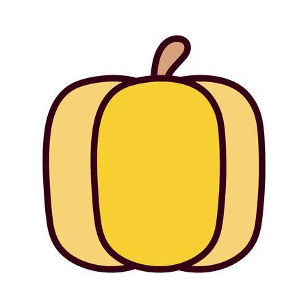 Isolated pumpkin icon design