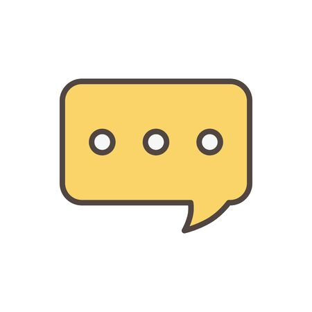 speech bubble social media icon