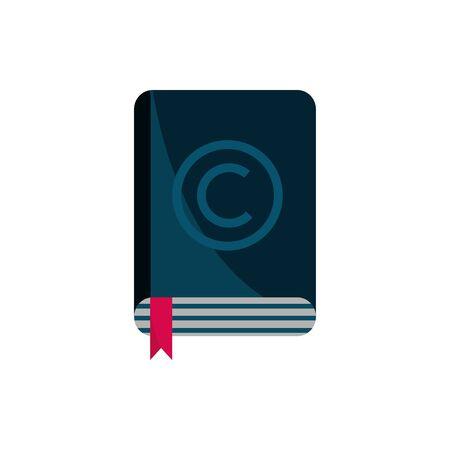 book literature property intellectual copyright icon