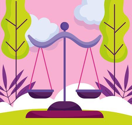 justice balance politics election democracy voting