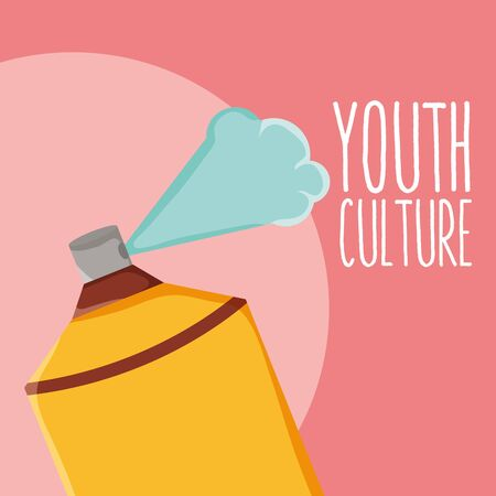 spray paint bottle youth culture