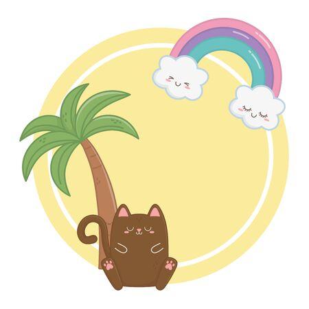 cat cartoon design