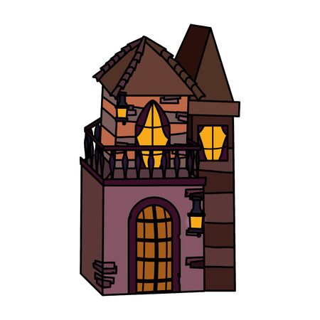 trick or treat - happy halloween 向量圖像