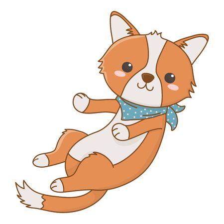 Isolated dog cartoon design vector illustrator