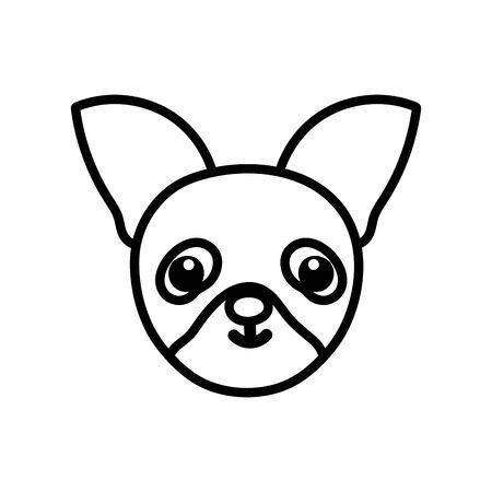 Isolated dog cartoon icon vector design Ilustrace