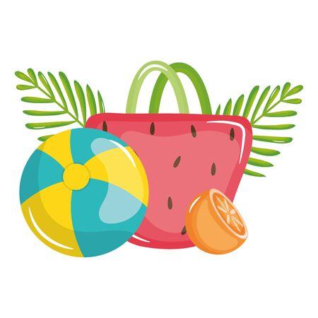 handbag female with ball plastic toy