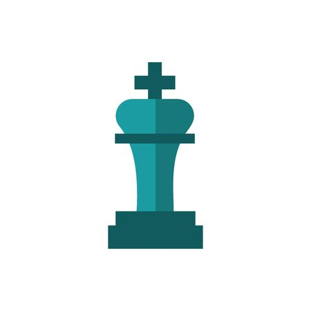 chess piece business strategy icon