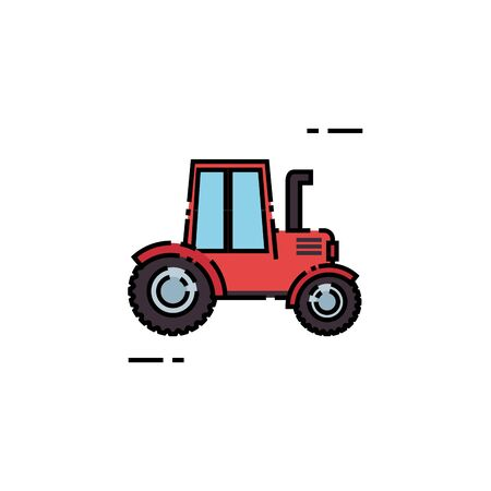 truck design, Farm nature rural farming harvest countryside and organic theme Vector illustration Illusztráció