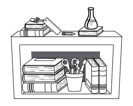 Furniture and school supplies design