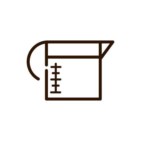 coffee maker fresh line design vector illustration