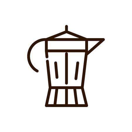 italian coffee maker preparation line design