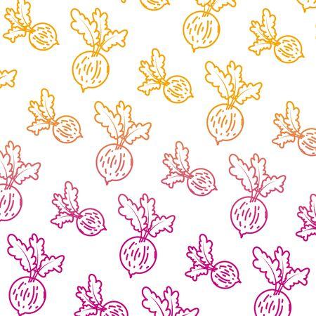 degraded line healthy onion fresh vegetable background