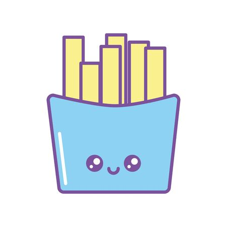 Isolated kawaii cheese icon fill design