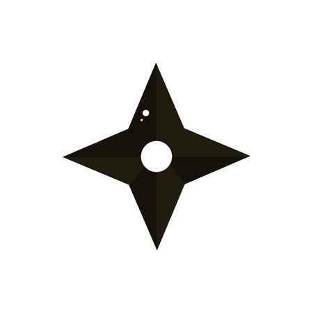 ninja shuriken samurai weapon japanese symbol icon