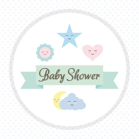 baby toys accessories with ribbon frame Foto de archivo - 136890235