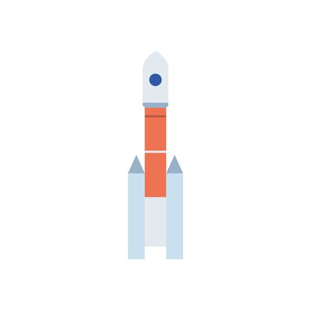 space shuttle flat style icon