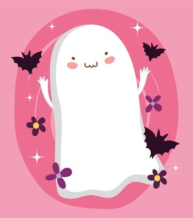 trick or treat - happy halloween Ilustrace