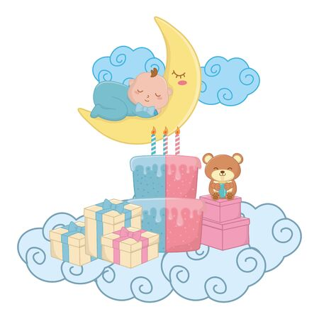 baby element icons  illustration