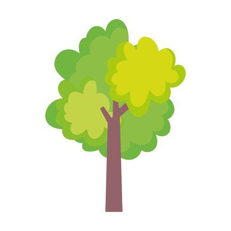 greenery tree foliage nature ecology icon