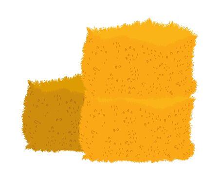 farm hay food icon design vector illustration