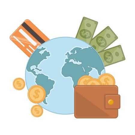 Isolated money design vector illustration 일러스트