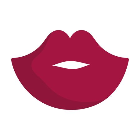 happy valentines day, female mouth lips sexy love