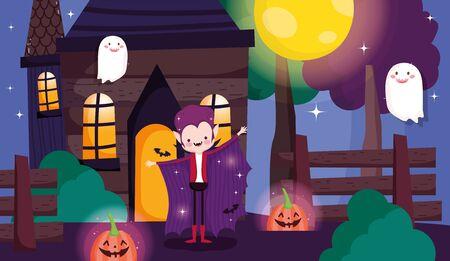 kids costume trick or treat happy halloween
