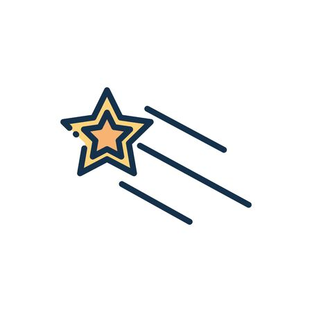 star galaxy astronomy and space on white background vector illustration 矢量图片