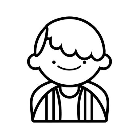 back to school education smiling young boy student cartoon