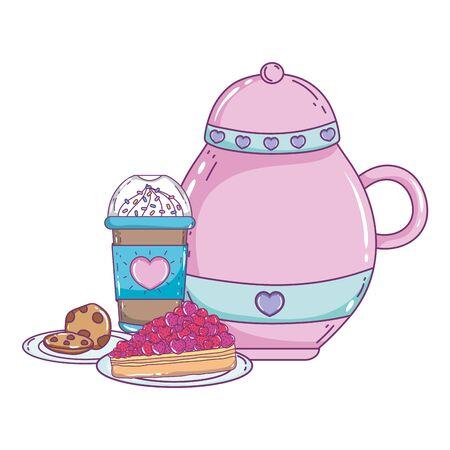 Isolated sugar bowl vector design Ilustração