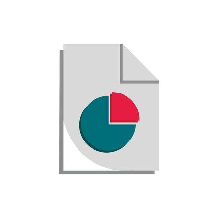 diagram report economy money business finance  イラスト・ベクター素材