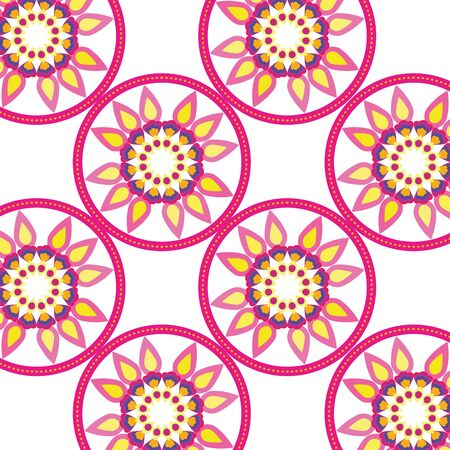 Mandalas background of bohemia concept