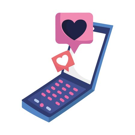 social media smartphone chat message love romantic