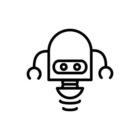 robot science fiction technology artificial machine linear design